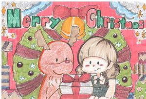 クリスマスカード(3暁 松沢早織).JPG