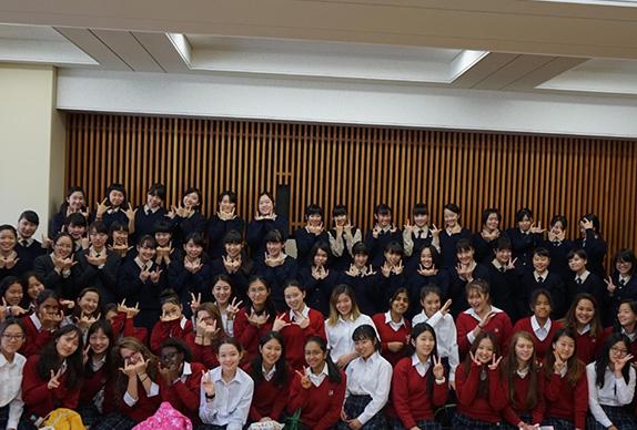 清泉インターナショナル学園生来校